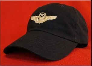 USAF Command Pilot wings hat