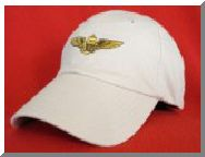 Naval Aviator wings ball cap