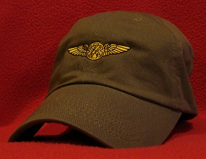 Coast Guard Navy Rescue Swimmer wings hat