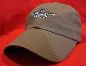 Army Master Aviator wings hat