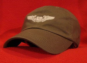 USAF Navigator wings ball cap