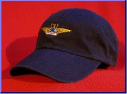 Delta Air Lines Retro  Captain wings hat