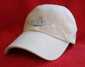 USAF Master Navgator wings ball cap