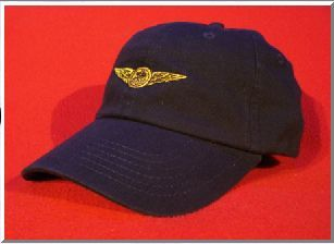 Naval Air Crew wings hat