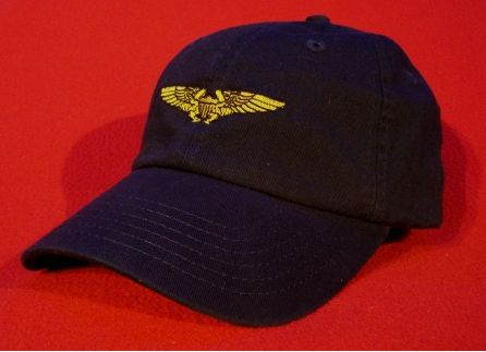 Naval Flight Officer wings hat