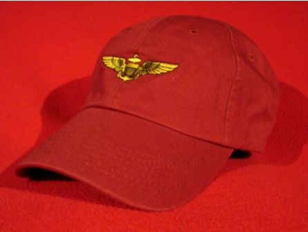 Marine Corps Aviator wings hat