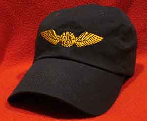 Northwest Pilot wings hat