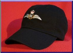 Royal Air Force Pilot wings hat