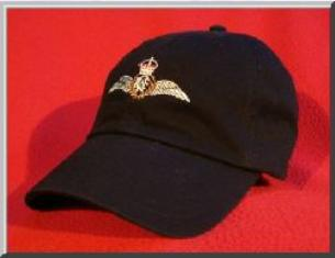 Royal Canadian Air Force Pilot wings hat