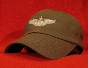 USAF Senior Navigator wings ball cap