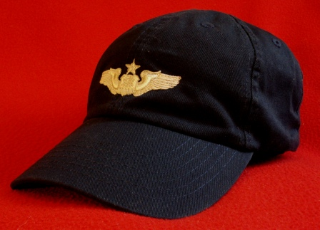 USAF Senior Navigator wings hat
