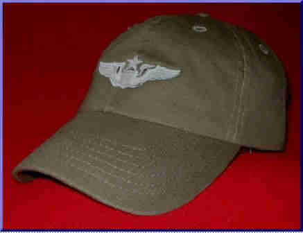 Air Force Senior Pilot wings hat